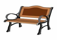Wooden bench. Vector illustration of a bench, EPS 8 file Stock Illustration