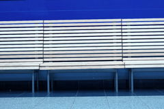 Wooden benches Stock Photography