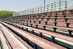 Wooden Benches Royalty Free Stock Photo