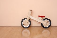 Wooden bicycle Stock Image
