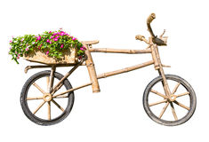 Wooden bicycle Royalty Free Stock Photos