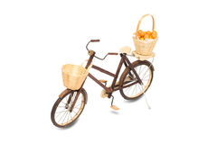 Wooden bicycle toy Stock Image