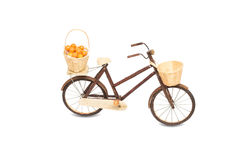 Wooden bicycle toy Stock Photos