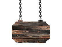 Wooden billboard Stock Photography