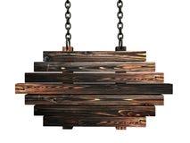 Wooden billboard Stock Photos