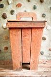 Wooden bin Stock Image