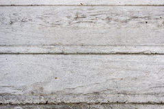 Wooden birch textured boards that have become white-gray from the sun Stock Photo