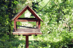 Wooden Bird house Stock Photography