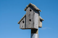 Wooden Birdhouse Stock Images
