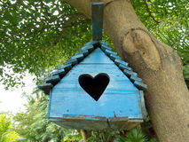 Wooden birdhouse Stock Photos