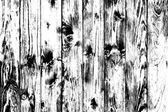 Wooden black and white background in grunge style, wooden texture background, structured surface, natural backdrop with nothing, w. Ood floor view in front Stock Illustration