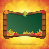 Wooden blackboard.Back to School Royalty Free Stock Images