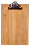 Wooden blank clipboard Stock Photos