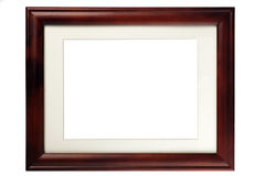 Wooden blank frame Royalty Free Stock Photography