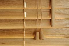 Wooden blind details Stock Photography