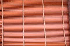 Wooden blinder panel background Royalty Free Stock Photography