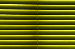 Wooden blinds. Horizontal interior closed wooden blinds Royalty Free Stock Image
