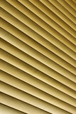 Wooden blinds. A background closeup of wooden blinds Royalty Free Stock Photos