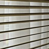 blinds and curtain Stock Images