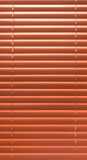 Wooden blinds Stock Image