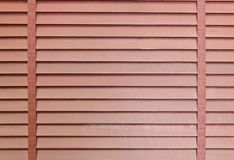Wooden blinds for background Royalty Free Stock Photo