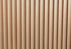 Wooden Blinds. Close Up of the Wooden Blinds Stock Image