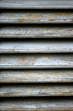 Wooden blinds. Old shutters made of wood Royalty Free Stock Photography