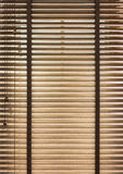 Wooden blinds Royalty Free Stock Photo