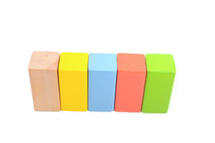 Wooden block Royalty Free Stock Photography