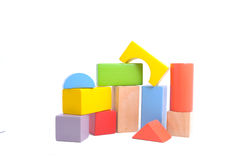 Wooden block Stock Photography