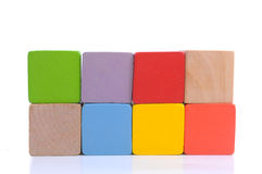 Wooden block Stock Image