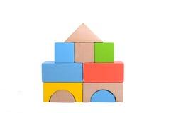 Wooden block Stock Images