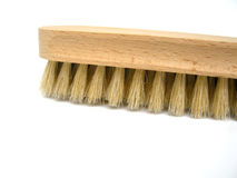 Wooden Block Scrub Brush Royalty Free Stock Image