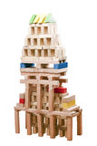 Wooden block toys Royalty Free Stock Photo