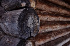 Wooden blockhouse Royalty Free Stock Photo