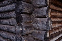 Wooden blockhouse Royalty Free Stock Photography
