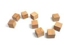 Wooden Blocks Royalty Free Stock Photography