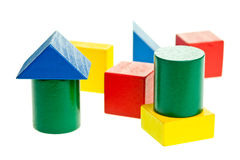 Wooden blocks Stock Photography