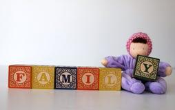 Wooden blocks Stock Photo