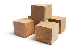 Wooden Blocks Stock Photos