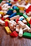 Wooden blocks Royalty Free Stock Photos