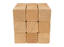 Wooden blocks Stock Photography