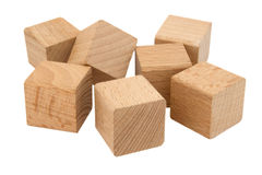 Wooden blocks Royalty Free Stock Photo