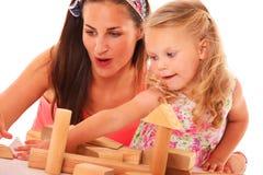 Wooden blocks Royalty Free Stock Photo
