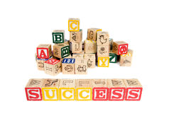 Wooden Blocks royalty free stock images