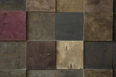 Classic tile wall texture royalty free stock photos