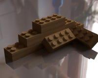 Wooden blocks LEGO Royalty Free Stock Photos
