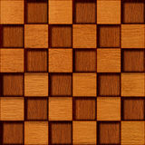 Wooden blocks golden Oak Stock Images