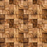 Wooden blocks stacked for seamless background. Decoration pattern stock photos