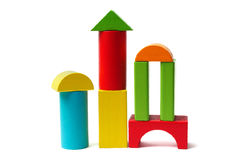 Wooden blocks Stock Image